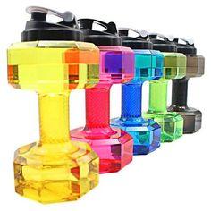 2.2L Dumbbell Shaped Bpa-Free Plastic Water Bottle