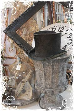 Vintage Men's Top Hat