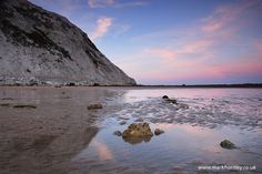 Reflections at Birling Gap. Taken by Mark Huntley www.markhuntley.co.uk
