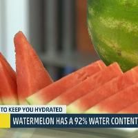 Nutritionist Lyssa Weiss joins Al and Stephanie to talk about the need to make sure you keep hydrated in the summer.