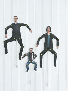 DIY Dancing Family Cut-Outs Sweet Paul Mag