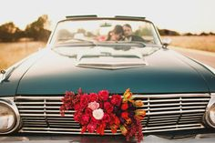 every vintage wedding needs an old car!  photography by the life you love