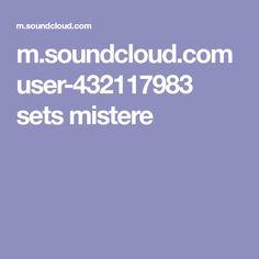 m.soundcloud.com user-432117983 sets mistere