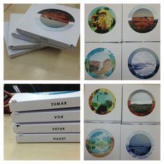 Season mixtapes -  cd packaging and layout