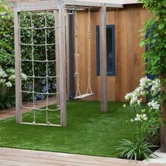 5-contemporary-gardens-Cool-kids-zone | Home Interior Design, Kitchen and Bathroom Designs, Architecture and Decorating Ideas