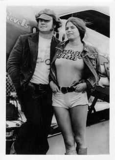 """1973 — """"Jungle Pam"""" Hardy and """"Jungle Jim"""" Liberman with his Chevy Vega Funny Car. You'd be hard-pressed to say who was hotter back in the R… Jungle Jim Liberman, Pam Hardy, Linda Vaughn, Jungle Jim's, Light Em Up, Andre The Giant, Francoise Hardy, Carroll Shelby, Miles Davis"""