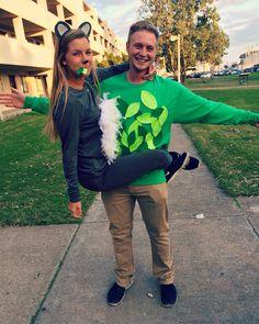 Koala and tree Halloween costume!