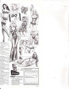 Frederick's of Hollywood Lingerie Order Form Vintage 1980 Magazine Print Ad  | eBay