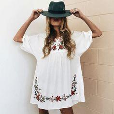58 Most Popular Boho Spring Outfits Ideas To Inspire You - Trendfashionist Estilo Fashion, Boho Fashion, Ideias Fashion, Womens Fashion, Mode Chic, Mode Style, Cute Summer Outfits, Spring Outfits, Style Outfits