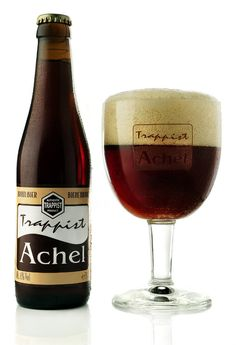 Achel 8 Bruin (Belgian Strong Ale) -- Hazy brown-amber colour, with lots of of white head. This bottle was a gusher. Nose is very malty, bread, brown sugar, molasses. Taste follows suit, toffee, molasses, sugar, bread. Well balanced., alcohol is very well hidden. Good brew.
