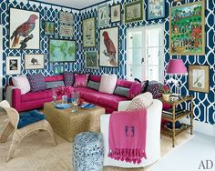 like the concept, but with less pink. Bahamas Beach House