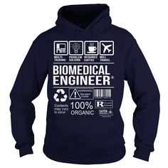 Awesome Shirt For Biomedical Engineer T-Shirts, Hoodies. Check Price Now ==>…