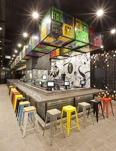 Restaurante Sushizilla. #Construir es el ARTE de CReAR Infraestructura... #CReOConstrucciones y #Remodelaciones.