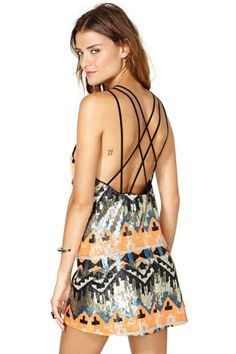 Nasty Gal Poison Arrow Dress