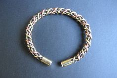 Celtic torc Torque Bracelet Silver Copper Brass Iron  by celtsmith