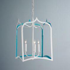 Color Trim Tudor Arch Lantern