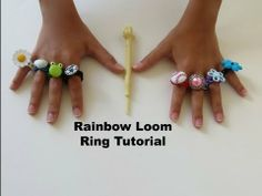 Rainbow Loom Ring Tutorial - YouTube #MichaelsRainbowLoom