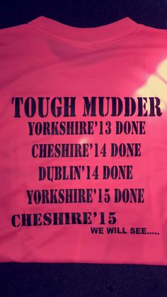 EEC Home Improvements take on their 5th Tough Mudder event!