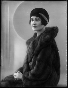 Kathleen Manners (née Tennant), Duchess of Rutland by Bassano Ltd, 15 April 1929