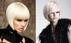 Razored a Line Cuts | platinum_blonde_A_line_bob_hairstyles