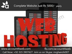 Account4WEB    Web Hosting in Pakistan.: Stunning and Effective Web Designs    Account4WEB