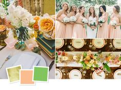 15 Wedding Color Combos You've Never Seen | TheKnot.com