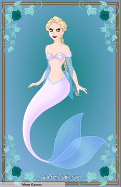 Azalea's Dolls deviantART | Azalea's Dolls- Elsa as a Mermaid by FlyingFreedom13