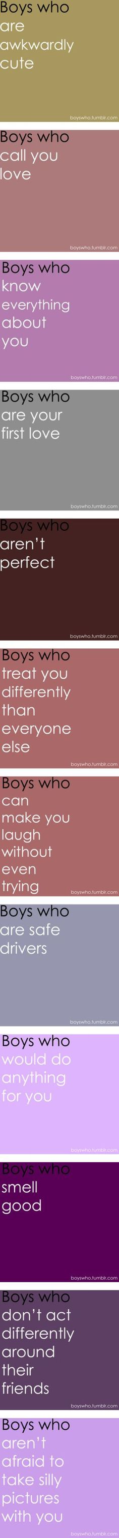 """boys who .. part 2 (:"" by princess-bree ❤ liked on Polyvore"