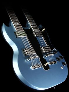 Gibson Custom Shop EDS-1275 Double Neck Electric Guitar Pelham Blue