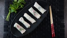 Beef & Green Papaya Salad Rice Paper Rolls | Good Chef Bad Chef Vietnamese Food, Vietnamese Recipes, Asian Recipes, Beef Recipes, Green Papaya Salad, Beef Roll, Rice Paper Rolls, Healthy Food, Healthy Recipes