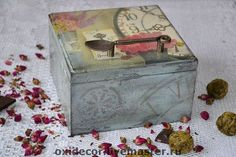 коробка для чая ШАРМ СТАРИНЫ - кухня,шкатулка,короб,коробка для чая,прованс
