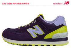 2013 nuevos auténticos descuento NB zapatillas golpeó el color de los zapatos retro WL574BFF de