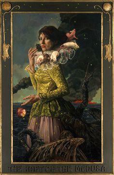 I love Gail. And Century Guild!  The Raft of the Medusa (Gail Potocki, 2012)   Century Guild