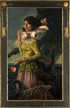 I love Gail. And Century Guild!  The Raft of the Medusa (Gail Potocki, 2012) | Century Guild