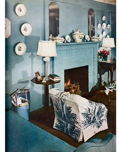 FEBRUARY 1950 (70 Years of Blue Rooms).