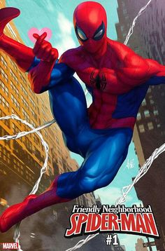 Friendly Neighborhood Spider-Man Vol 2 Cover B Variant Stanley Artgerm Lau Cover Marvel Comics, Comics Spiderman, Marvel Art, Marvel Heroes, Marvel Characters, Spiderman Drawing, Ms Marvel, Stanley Lau, All New Wolverine