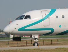 A photo of an Air Dolomiti Embraer ERJ-195 in Bologna (BLQ / LIPE).