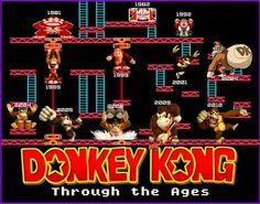 Donkey Kong evolution