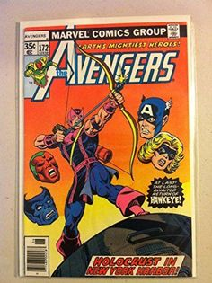 The Avengers #172 Holocaust in NY Harbor Jun 78 Very Good to Fine @ niftywarehouse.com #NiftyWarehouse #Nerd #Geek #Entertainment #TV #Products