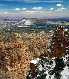 Výsledek obrázku pro grand canyon winter