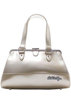 Sourpuss Bettie Page Centerfold Bag - Gold