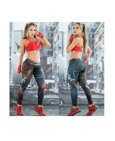 6fe5e37d44595 Harley Quinn Leggings #supergirls #leggings #Marvel #Comics #fitness #girl  Women's