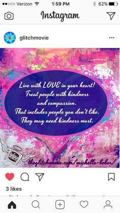 #love #kindness #compassion #podcast #angels http://www.theglitchmovie.com/michelle-beber