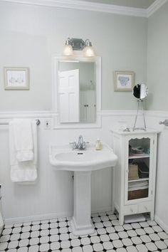How To Remodel A 1920s Bungalow Bathroom 31 Retro Black White Bathroom Floor Tile Ideas And Pictures