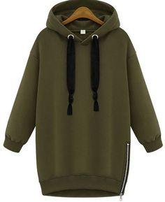Nouveauté : un sweat-shirt vert avec un zip sur le côté restez bien au chaud   #muslimshop #boutiquemusulmane #sweatshirt #sportwear #mastour #muslimahwear #muslimah