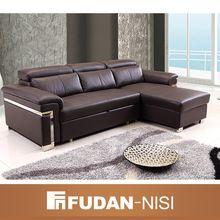 Modern Leather Living Room Sofa Bed Furniture