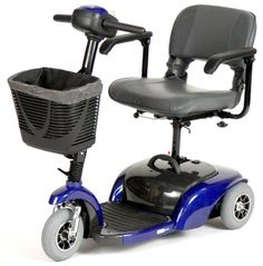 Spitfire Travel 3Wheel Power Scooter Blue *** See this great product.