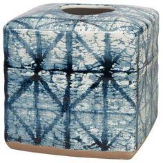 Creative Bath Products Shibori Boutique Tissue Holder - SHB58IND