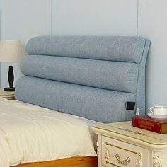 WENZHE Upholstered Headboard Bedside Cushion Pads Cover Bed Wedges Backrest Waist Pad Soft Case Cloth Sofa Backrest Washable, No Headboard, 7 Colors, 7 Sizes (Color : 3 Size : No Diy Home Furniture, Kids Room Furniture, Bedroom Furniture Design, Bed Designs With Storage, Corner Sofa Design, Bedroom Decor For Couples, Headboard Designs, Headboards For Beds, Headboard Cover
