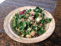 Kale Salad With Lemon Vinaigrette Is the Only Salad Recipe You Need | The Stir